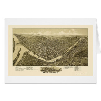 Franklin, carte panoramique de PA - 1901