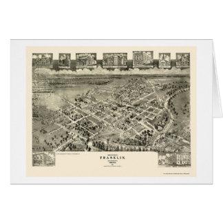 Franklin, carte panoramique de VA - 1907