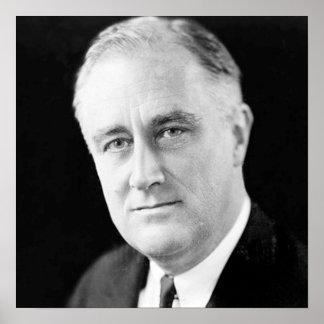 Franklin D Roosevelt Poster
