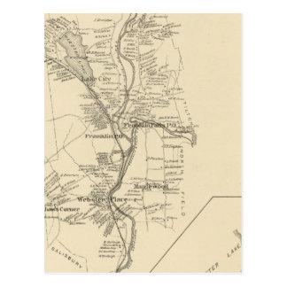 Franklin, Merrimack Co Carte Postale