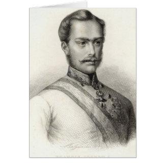 Franz Joseph I, empereur de l'Autriche 2 Carte De Vœux