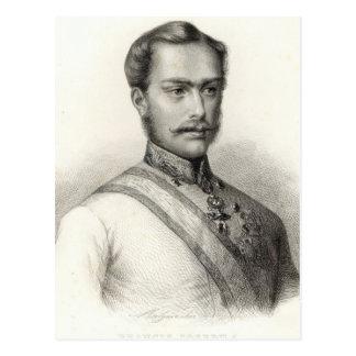 Franz Joseph I, empereur de l'Autriche 2 Cartes Postales
