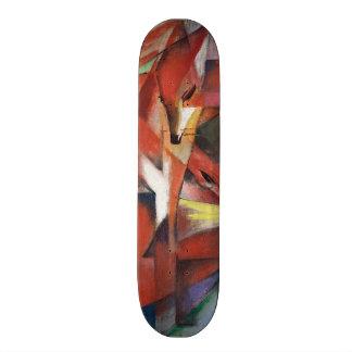 Franz Marc - les renards, 1913 Plateaux De Skateboards