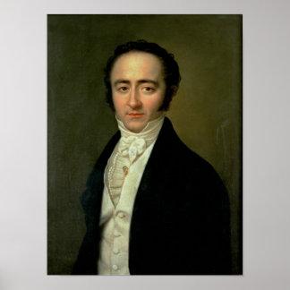 Franz Xaver Mozart, plus tard connu sous le nom de Affiche