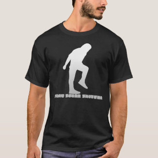 FRAPPENT DU PIED le pas traînant de style T-shirt