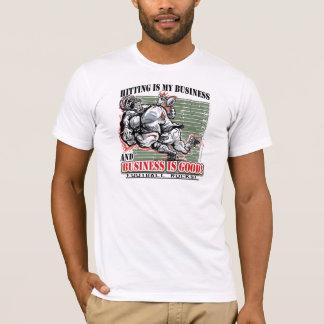 Frapper est mon T-shirt du football d'affaires