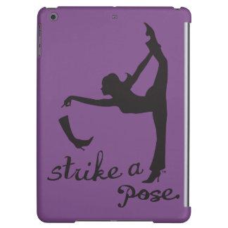 Frappez un yoga de ~ de pose et un créatif inspiré