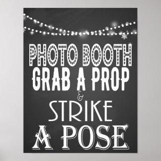 Frappez une affiche d'impression de mariage de posters