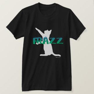 FRAZZ ! T-shirt de club de chat noir