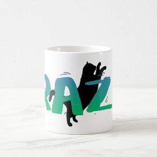 FRAZZ ! Tasse de chat noir