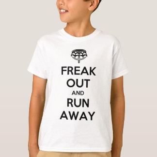 Freak la course loin empêchent d'entrer le calme t-shirt