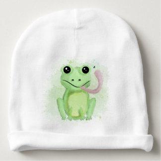 Freddy grenouille bonnet de bébé