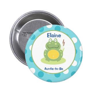 Freddy le bouton nommé d'étiquette customisé par badges