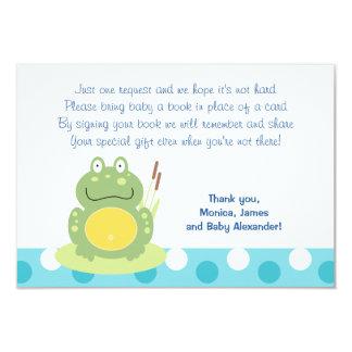 Freddy les cartes de clôture de la grenouille RSVP Carton D'invitation 8,89 Cm X 12,70 Cm