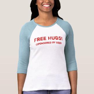 Free Hugs ! (Sponsored by God) T-shirts