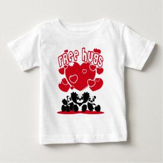 Free_Hugs T-shirt Pour Bébé