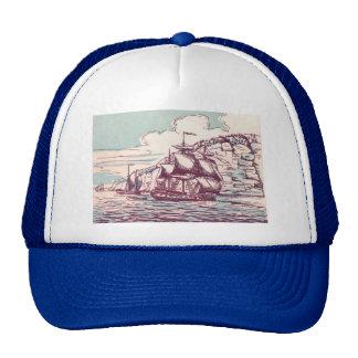 Frégate britannique 1843 casquettes de camionneur
