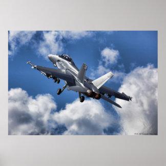 Frelon F/A-18 superbe Affiche