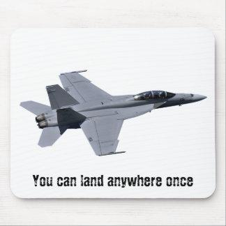 Frelon superbe Mousepad de la marine F-18 des USA Tapis De Souris