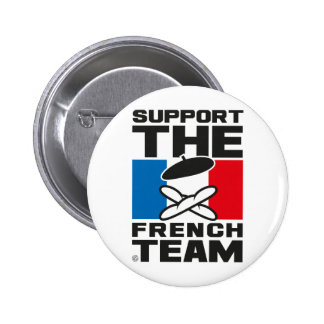 FRENCH TEAM BADGE ROND 5 CM