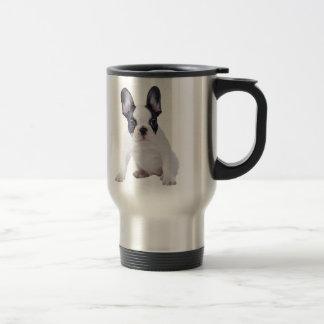 Frenchie - chiot de bouledogue français mug de voyage