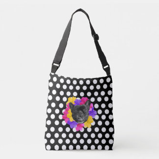 Frenchie pointille le sac