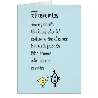Frenemies - un meilleur bientôt poème de sensation cartes