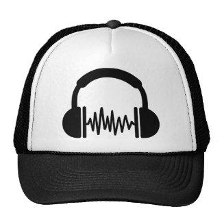 Fréquence DJ d'écouteurs Casquette De Camionneur