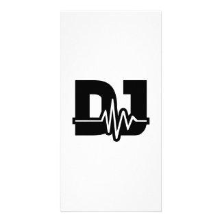 Fréquence du DJ Photocartes Personnalisées