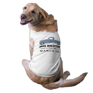 Frère à être chemise de chien t-shirt pour chien