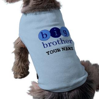 Frère - cercles t-shirt pour chien