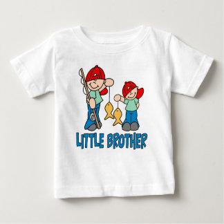 Frère d'amis de pêche petit t-shirt pour bébé