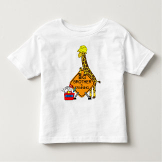 Frère dans la formation t-shirt pour les tous petits