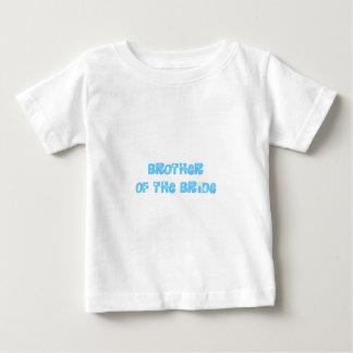 Frère de la jeune mariée t-shirt pour bébé