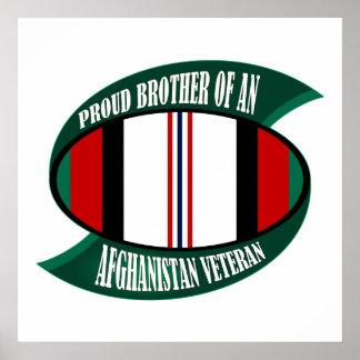Frère de vétérinaire de l'Afghanistan Posters