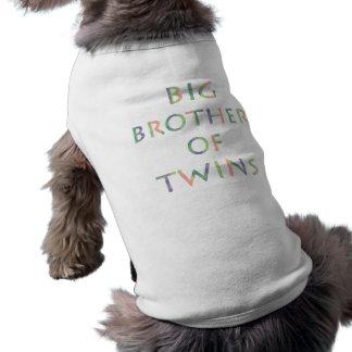 Frère des jumeaux - chiens t-shirt pour chien