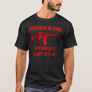 Frères d'armes des vétérinaires du t-shirt