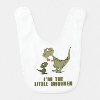 Frères de dinosaure bavoirs de bébé