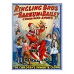 Frères de Ringling et Barnum et clowns de cru de B