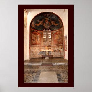 Fresques médiévaux posters