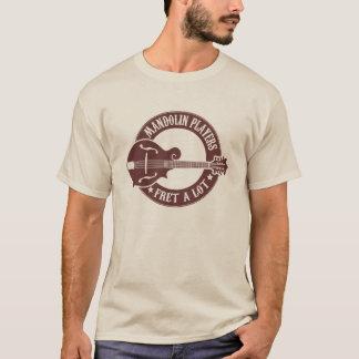 Frette de joueurs de mandoline beaucoup t-shirt