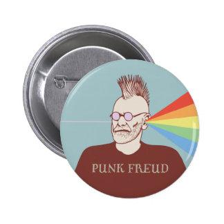 Freud punk badge