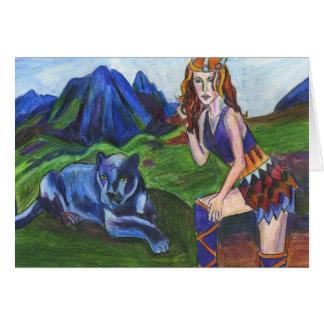 Freya de la carte de Valkyries