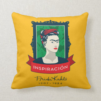 coussins frida kahlo personnalis s. Black Bedroom Furniture Sets. Home Design Ideas