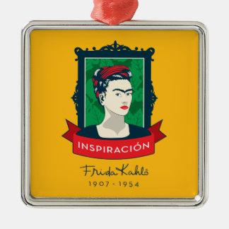 Frida Kahlo | Inspiración Ornement Carré Argenté
