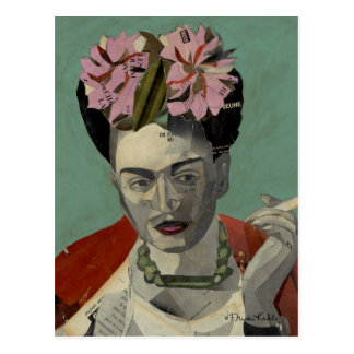 Frida Kahlo par Garcia Villegas Carte Postale