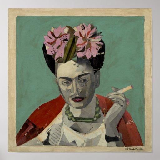Frida Kahlo par Garcia Villegas Posters