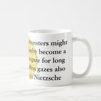 Friedrich Nietzsche - citation profonde Mug