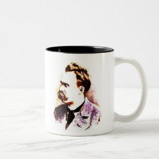 Friedrich Nietzsche Tasse 2 Couleurs