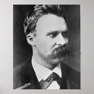 Friedrich Wilhelm Nietzsche (1844-1900) 1873 (b/w Posters